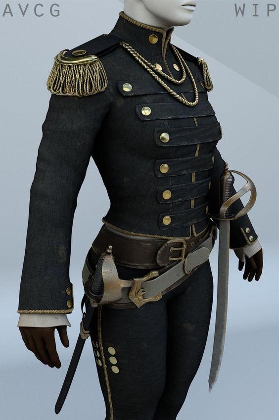 Civil War Military Uniform 10