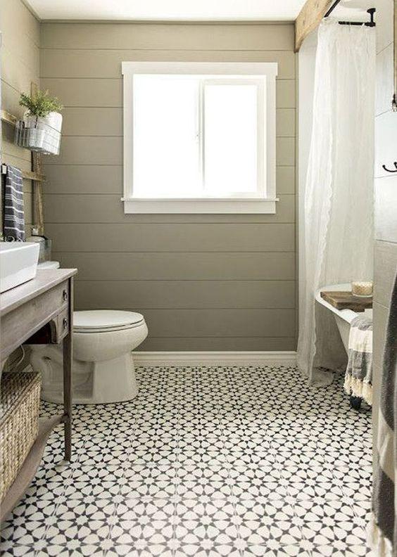 Gorgeous 150 Stunning Farmhouse Bathroom Tile Floor Decor Ideas And Remodel To Inspire Your Bathroom https://roomadness.com/2018/05/03/150-stunning-farmhouse-bathroom-tile-floor-decor-ideas-and-remodel-to-inspire-your-bathroom/