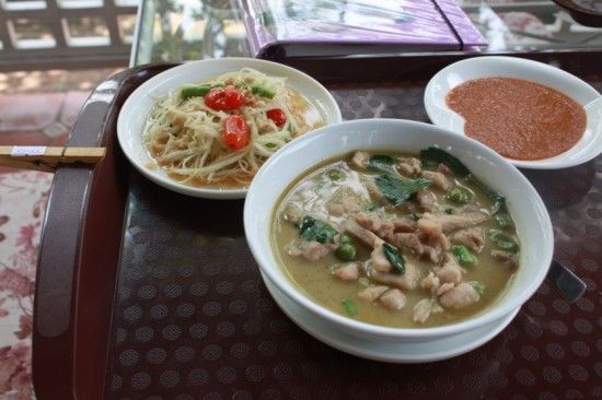 Learning to cook Thai at Amita's Cooking School in Bangkok! I made these!