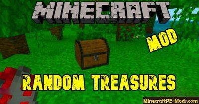 Random Treasures Minecraft Pe Mod 1 16 0 1 14 60 Ios Android Minecraft Minecraft Pe Minecraft Mods