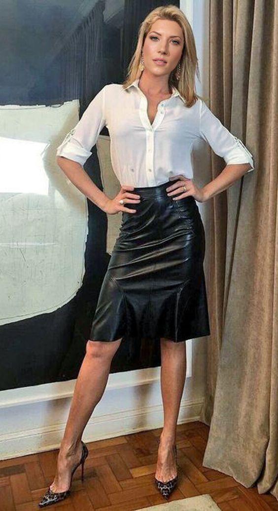 Katheryn winnick leather