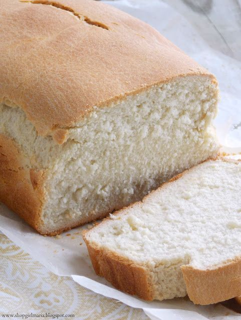 Shopgirl Classic White Bread Recipe Adapted From Martha Stewart Makes 1 Loaf