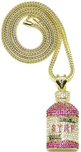 Syrp Lil Wayne Iced Out Pendant Necklace Gold Color Franco Style Chain/Slv & P GWOOD,http://www.amazon.com/dp/B005C7WAQS/ref=cm_sw_r_pi_dp_vpqisb03F01DA6WK