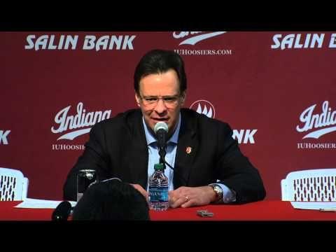 ▶ No. 20/19 Iowa at Indiana: Tom Crean Press Conference - YouTube --  #IUCollegeBasketball