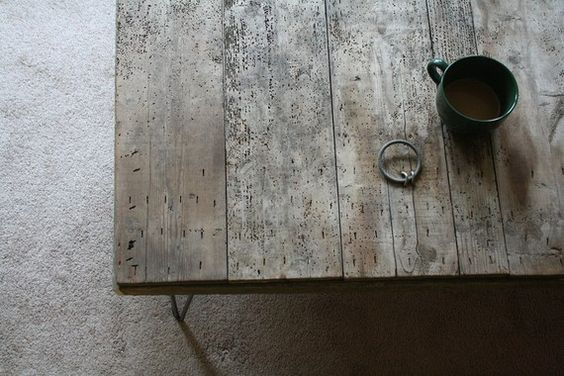 reclaimed wood. love it.