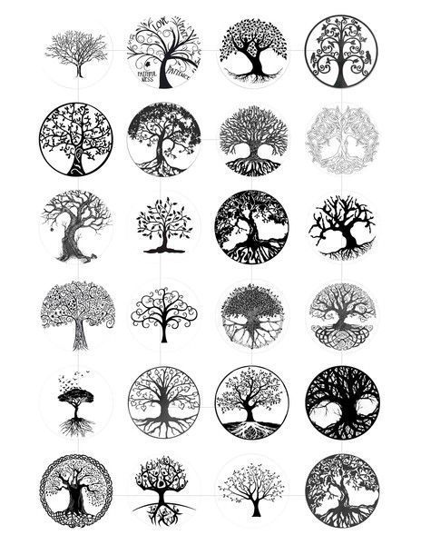 29 Ideas Tree Of Life Circle Tattoo Design For 2019 In 2020 Circle Tattoo Design Tree Tattoo Designs Tree Of Life Tattoo