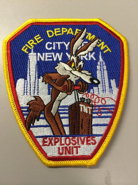 Code 3 FDNY Rescue Co 1 Patch 13020