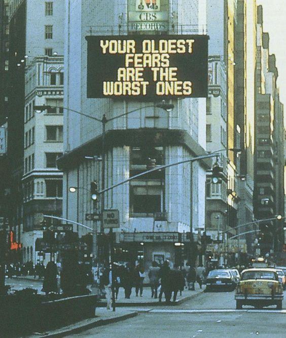 Jenny Holzer, Times Square Sign, 1982
