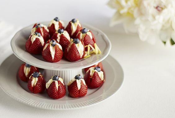 Fresh Strawberry And Lemon Sherbet Recipe — Dishmaps