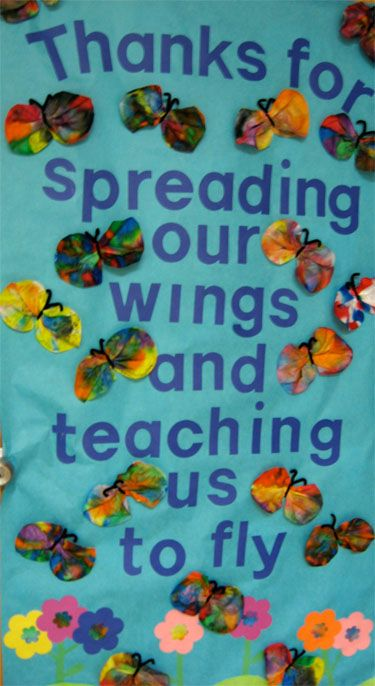 Thanks for spreading our wings and teaching us to fly (Teacher Appreciation Week)