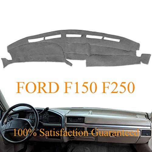 Dashboard Cover Dash Cover Mat Fit For Ford F150 F250 F350 Bronco 1992 1993 1994 1995 1996 Gray Y73 Dashboard Covers Ford F150 Ford F150 Custom