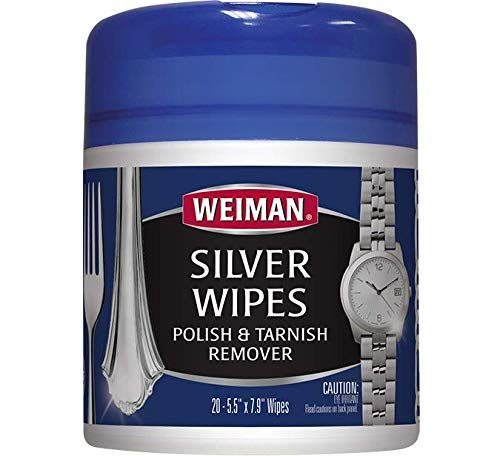 Weiman Jewelry Polish Cleaner And Tarnish Remover Wipes Https
