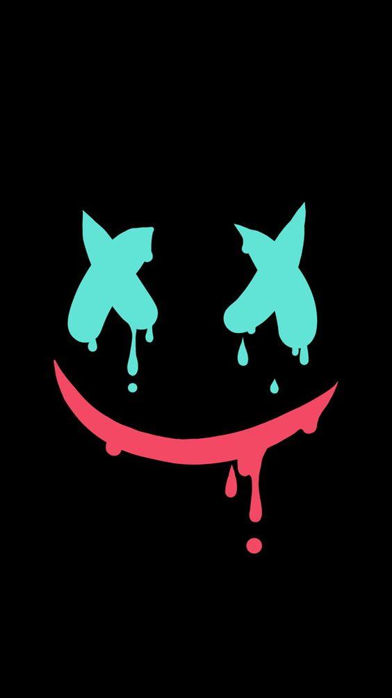 Smile 3240 5760 Crazy Wallpaper Cartoon Wallpaper Graffiti Wallpaper