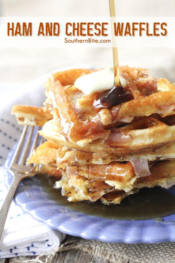explore ham and cheese waffles diy waffles and more ham and cheese ...