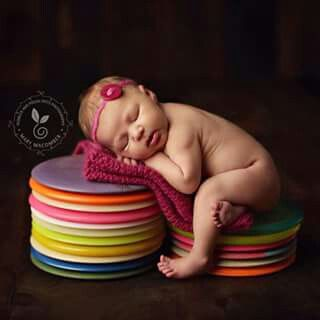 This will be my kid!  Disc golf baby