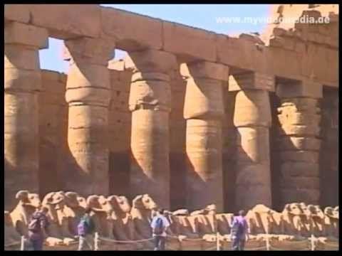 Travel tip Egypt - Karnak Temple north of Luxor - Egypt
