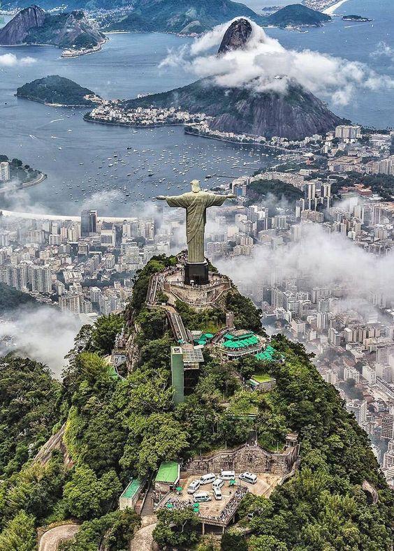 "coiour-my-world: ""Rio de Janeiro, Brazil | by @ai.visuals "" Pretty cool pic! #brazilphotography"