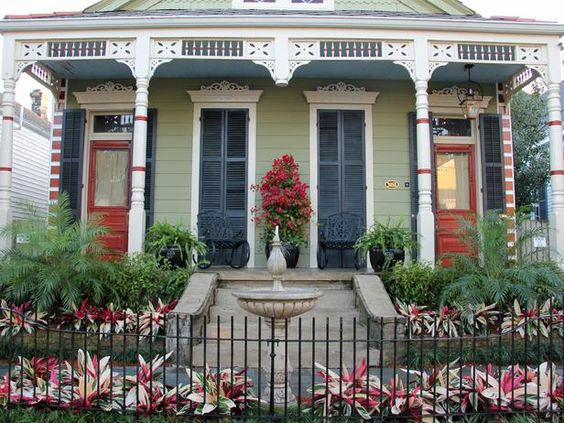 Curb appeal new orleans and bungalows on pinterest New orleans paint colors