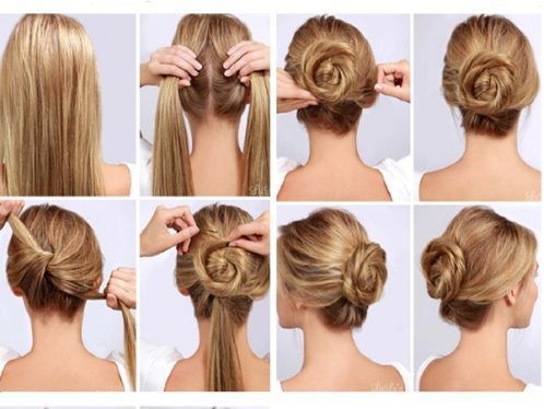 6 Easy Office Hairstyles For Long Hair Diyhairstyles Office Hairstyles Easy Office Hairstyles Thick Hair Styles