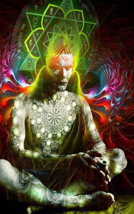 ✣...The source of everything is One's Own Self , and if One realises the Self , One will not find anything different from the Self ...   ✣ Ramana Maharishi  Image Source;  Consciousness Revival: