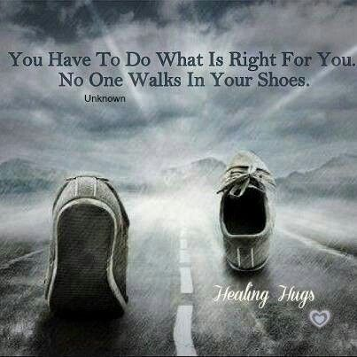 U have to do what is right