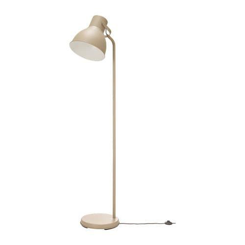 Hektar Floor Lamp With Led Bulb Beige Floor Lamp Led Floor