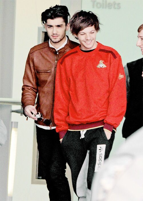 Seriously, where did Louis get those pants. I want them.