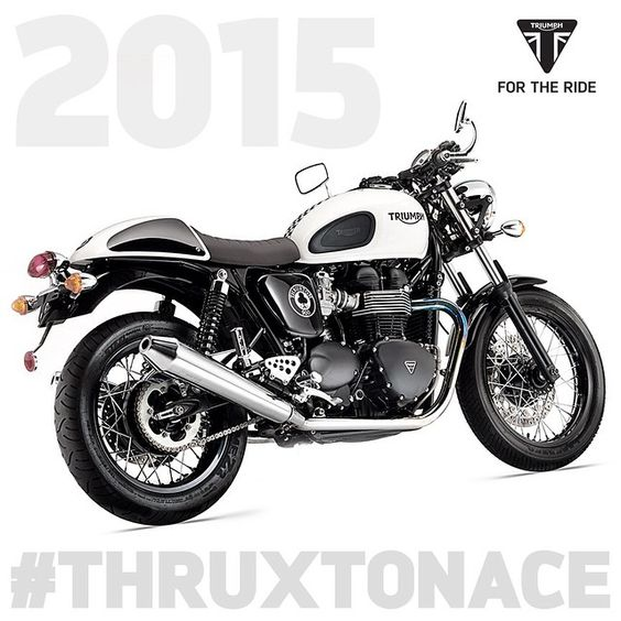 2015 #ThruxtonAce in dealerships now. What would you change about this limited edition ModernClassic? #Padgram