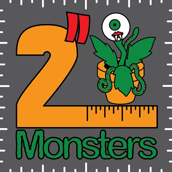 Stand design for Batch 02. It's two inches by two inches at 300 dpi. Feel free to print and mount them on stiff board if you'd like something to display these on.: 300 Dpi, Two Inch Monsters, Stand Design, Stiff Board, Dpi Feel, 02 It S
