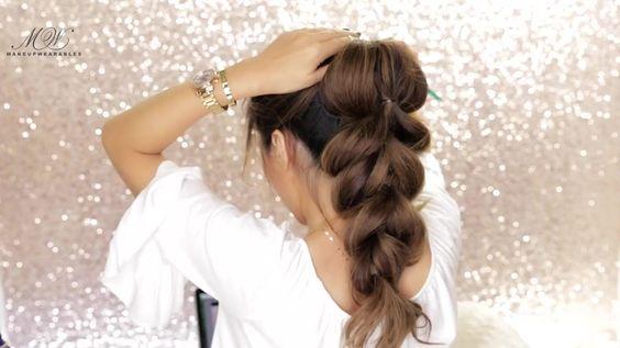 Penteados - Os mais bonito TRANÇA Você já viu - Penteados Para Cabelos Medios