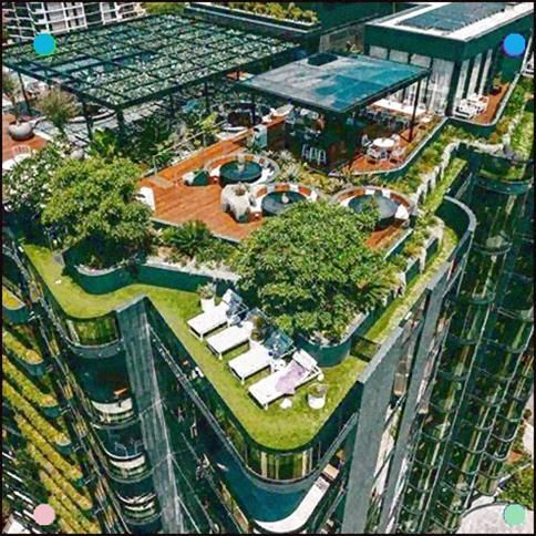As Our Cities Densify The Provision Of Rooftop Amenity Is Becoming Increasingly Important To Urban Life In Austr In 2020 Rooftop Garden Sky Garden Garden Architecture