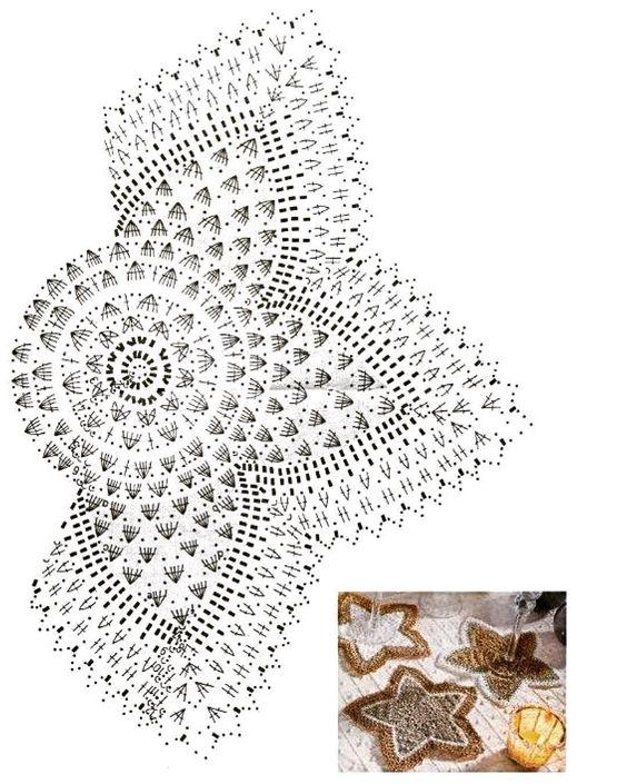 #схемасалфетки #салфеткакрючком #crochetdoily #doily #doilyscheme