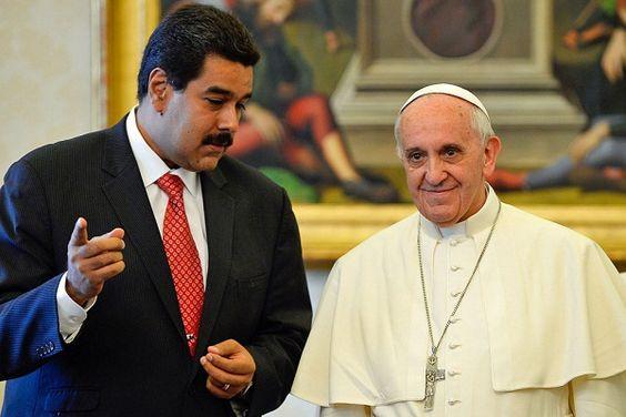Recibe Nicolás Maduro carta del Papa Francisco