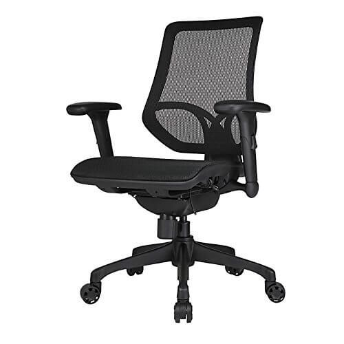 Herman Miller Aeron Knock Off Workpro 1000 Series Mid Back Chair Review Office Chair Mesh Task Chair Task Chair