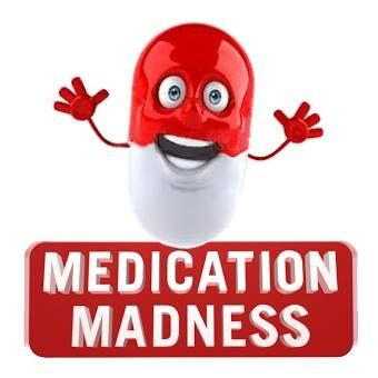 MedicationMadness.wordpress.com www.facebook.com/medicationmadness A project to inform public & professionals about the risks of consuming psychiatric medications such as antidepressants/benzodiazepines/neuroleptiques, addiction, withdrawal, help & alternative methods/treatments.