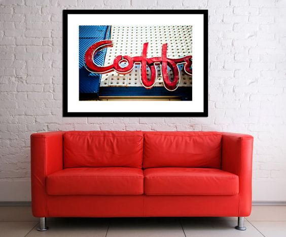 Johnie's Coffee Shop and Restaurant Vintage Neon Los Angeles Sign - Fine Art Photograph