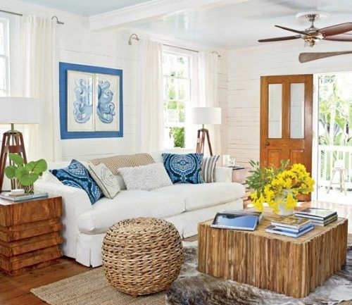 Island Style Decorating Ideas 5 Beach Theme Living Room Key West Cottage Beach House Interior