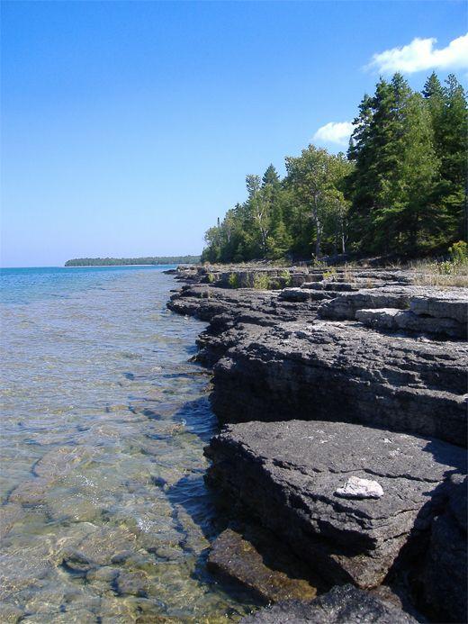 Drummond Island In Michigan S Upper Penninsula Happy