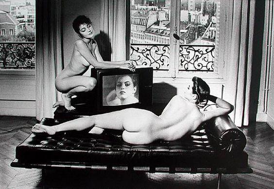 After Velasquez in my Apartment, Paris, 1981 Helmut Newton