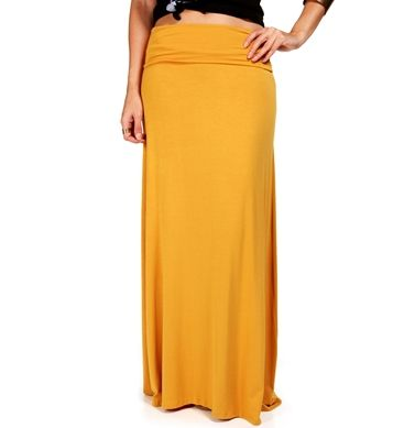 Mustard Maxi Skirt | Skirts | Pinterest | Seasons, Shopping and Colors