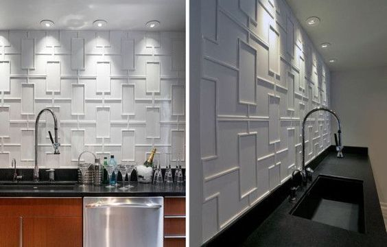 12 Creative Kitchen Tile Backsplash Ideas   Kitchen Tiles ...