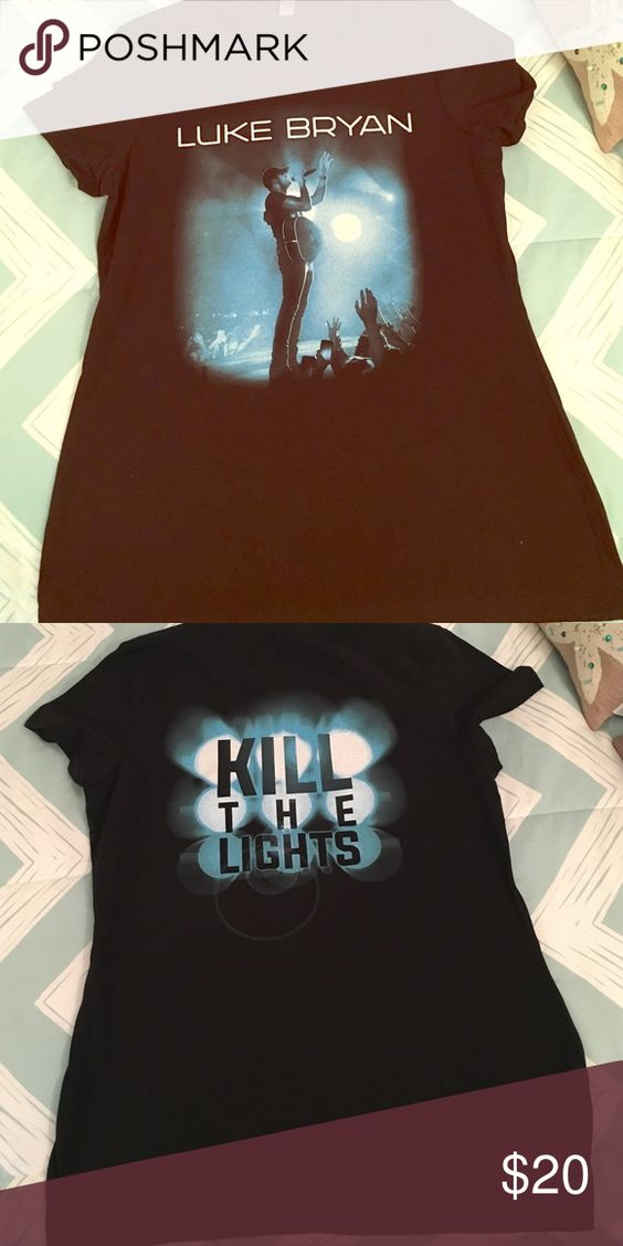 NWOT Official merchandise: Luke Bryan 2016 tour Brand new concert tshirt. Official merchandise. From Luke Bryan's Kill the Lights tour. Size medium Tops Tees - Short Sleeve