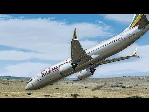 Boeing 737 MAX se Estrella Inmediatamente Después del Despegue | Vuelo 302: Así Sucedió - YouTube