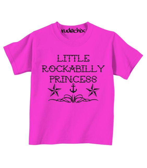 Little Rockabilly Princess Tee