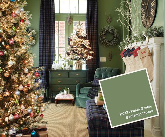Benjamin Moore Peale Green  I  via howtodecorate.com
