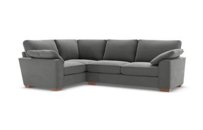 Nantucket Small Corner Sofa Left Hand Violet Corner Sofa Grey Corner Sofa Sofa