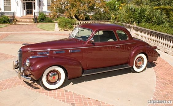 1940 LaSalle Series 40/50 Coupe - (LaSalle brand marketed by General Motors Cadillac division, Detroit, Michigan (1927-1940)