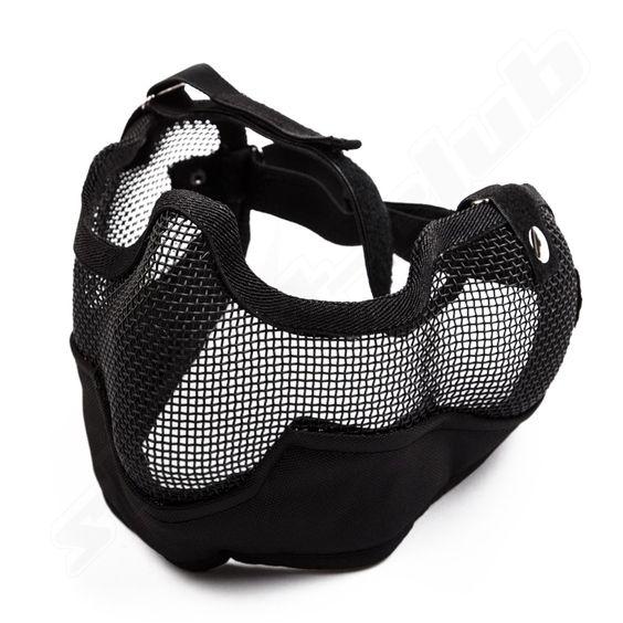 Gitterschutzmaske groß schwarz BK