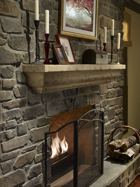 andante fieldledge fireplace mantle decor eldorado