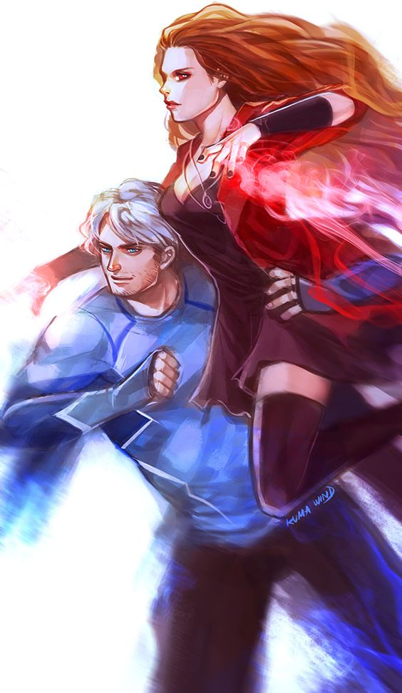 Quicksilver And Scarlet Witch Lovers Scarlet witch, Witches...